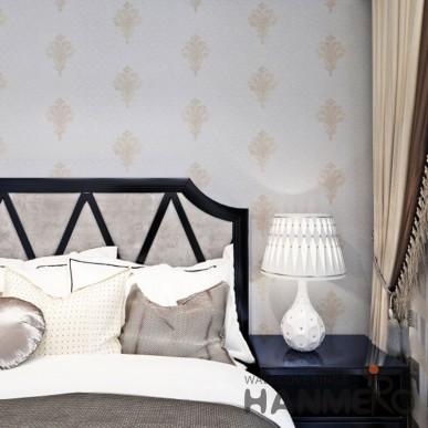 HANMERO European Modern Embossed PVC Wallpaper For Room Decor