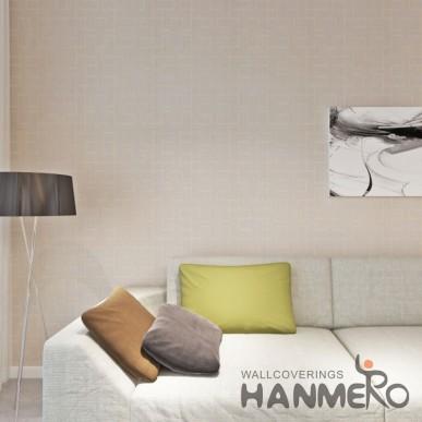 HANMERO Modern Geometric Gold PVC Embossed 0.53*10M Wallpaper