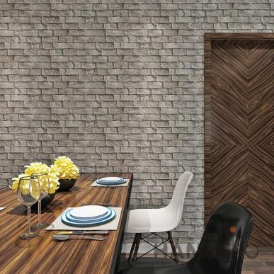 HANMERO Retro Brick 3D Vision 0.53*10M Vinyl Wallpaper For