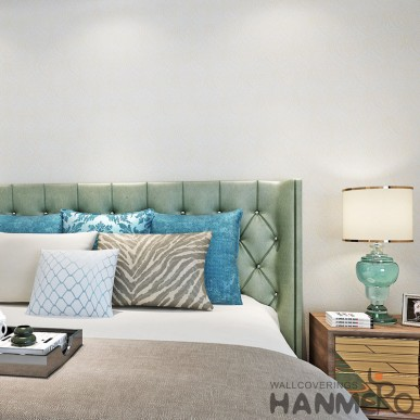 HANMERO Beige Floral PVC Environmental Embossed European Wallpaper For Room
