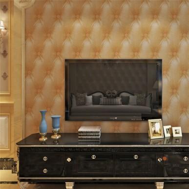 HANMERO Easy Clean PVC 3D Visual Brown Sofa Pattern Embossed Vinyl Wallpaper